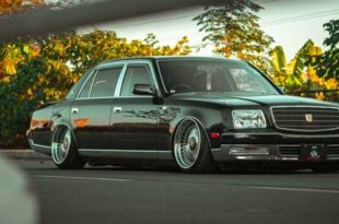 Toyota Century V12 VIP Tuning Hellaflush Head 310x205 Toyota Century V12 with VIP Tuning and Hellaflush from Vintage Works.