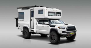 TruckHouse BCT Toyota Tacoma Camper 4x4 1 310x165 Practically the 2021 Lance 650 camper for pickups!
