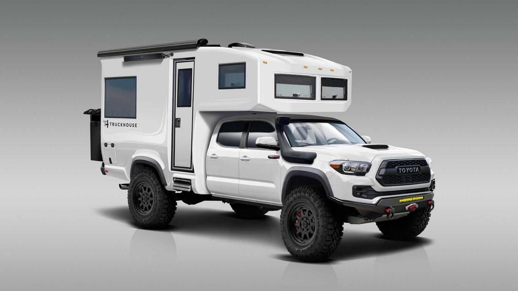 Toyota Tacoma 4x4 Carbon Camper From Truckhouse