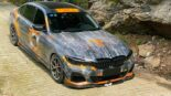 Tuning BMW 3er Li G28 full wrap 3 155x87 Heaven and Hell BMW 3er Li (G28) with extreme change!