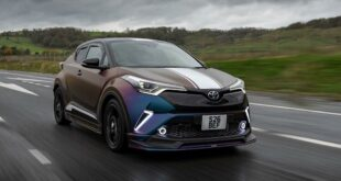 Tuning TRD Toyota C HR Hybrid 1 310x165 Aggressive Race Car Optik am TRD Toyota C HR Hybrid?