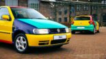 VW Polo Harlequin 2042 Netherlands Homage Tuning 155x87 Comeback? VW Polo Harlequin (2021) from the Netherlands!