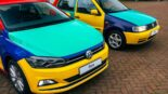 VW Polo Harlequin 2051 Netherlands Homage Tuning 155x87 Comeback? VW Polo Harlequin (2021) from the Netherlands!