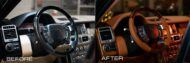 Vilner interior Range Rover Autobiography Tuning 4 190x63 Noble Vilner interior in the Range Rover Autobiography!