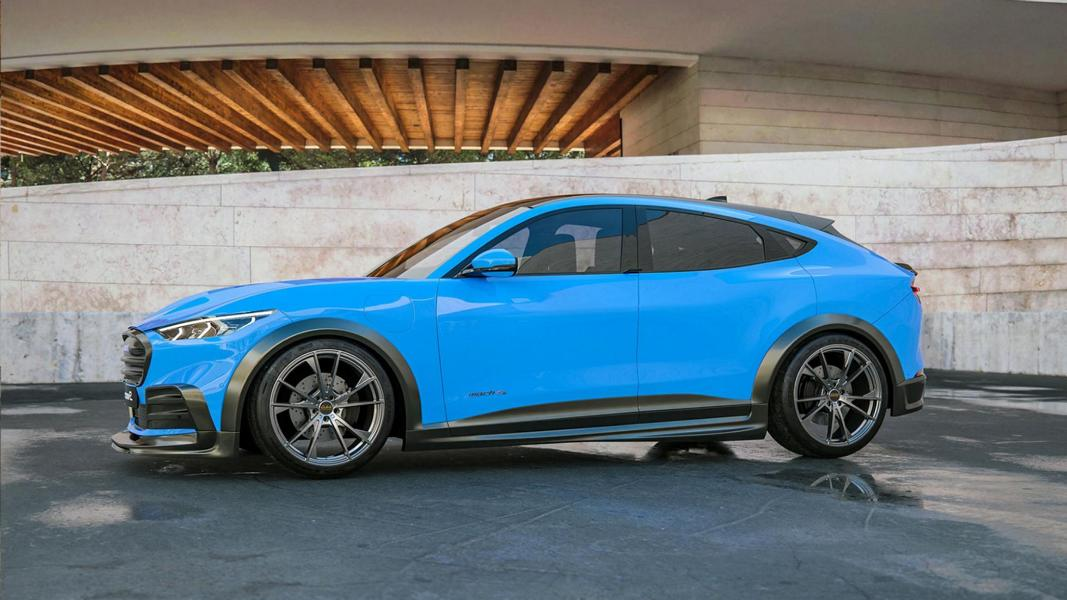 Widebody Ford Mustang Mach E MotionR Design Tuning 1 Widebody Ford Mustang Mach E von MotionR Design!