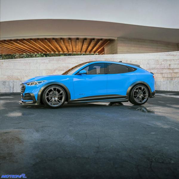 Widebody Ford Mustang Mach E MotionR Design Tuning 10 Widebody Ford Mustang Mach E von MotionR Design!