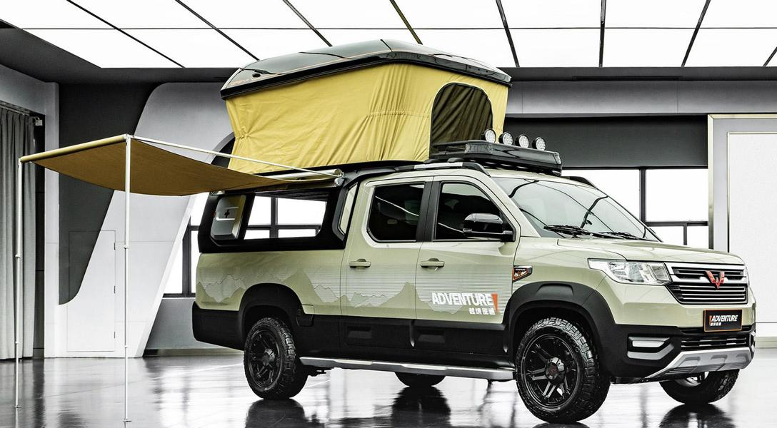 Wuling Journey Adventure Tuning Camping 4 Wuling Journey Adventure   chinesisches Campingmobil!