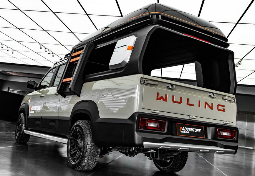 Wuling Journey Adventure Tuning Camping 6 Wuling Journey Adventure   chinesisches Campingmobil!