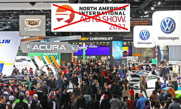 detroit auto show car shows, tuning meetings & Co. what allows Covid 19!