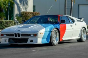 paul walker s former bmw m1 tuning 310x205 tuned 350 PS BMW M1 from Paul Walker will be auctioned!