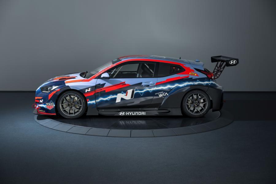 05 Veloster NETCR Hyundai verbindet im Motorsport Performance und Nachhaltigkeit