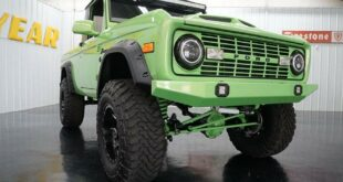1971 Ford Bronco Restomod Ford GT Green Lack 15 310x165 1971 Ford Bronco Restomod mit Ford GT Green Lack!