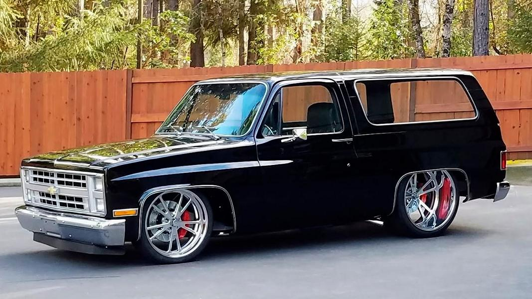 1985 GMC Jimmy Restomod Tuning 12 1985 GMC Jimmy Restomod   Klassiker mit 425 PS V8!