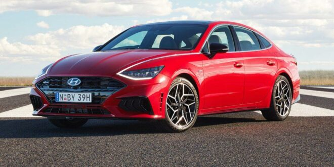 2021 Hyundai Sonata N Line presented for Australia!