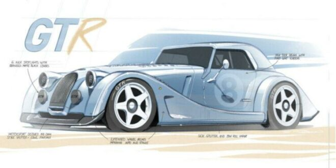 BMW-V8 (N62) with comeback in the Morgan Plus 8 GTR!