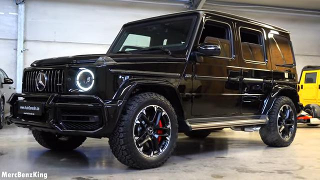 Armored Guard Mercedes AMG G63 Luxus SUV 2 Video: Armored Guard Mercedes AMG G63 Luxus SUV!