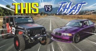 BMW E36 M3 vs. Hemi Jeep 310x165 Video: Knuckle Busters BMW E36 M3 vs. Hemi Jeep!