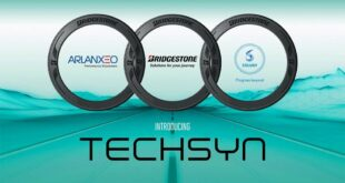 Bridgestone TECHSYN ARLANXEO 310x165 Technological leap in tires Bridgestone 30% more effective!