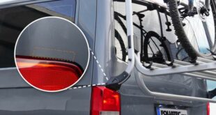 FOLIATEC 3427 lacquer protection film bicycle carrier A1 310x165 FOLIATEC lacquer protection films also for the bicycle carrier!