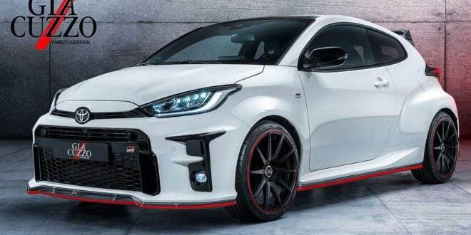 Giacuzzo Tuning am Toyota Yaris GR mit Bodykit u. +300 PS!