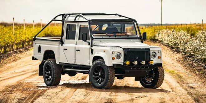 Project Mule – ECD Land Rover Defender Pickup mit V8!
