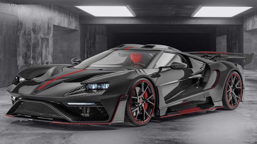 Le MANSORY Ford GT Schwarz Tuning 2021 3 Mansory Design Ford GT | Carbon Monster in Schwarz!