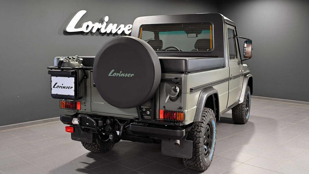 Lorinser Classic Puch G Pick Up W461 2 Lorinser Classic zeigt restaurierten Puch G Pick Up (W461)!