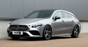 Mercedes CLA Shooting Brake sport springs front 310x165 Esprit for individualists: H&R sport springs for the Mercedes CLA Shooting Brake