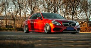 Mercedes E 260L V212 BBS rims 27 310x165 Red Star Warrior Mercedes E 260L (V212) on BBS rims!