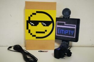 Mojipic LED Panel Car Display im Test 6 310x205 Individualisierbares Mojipic LED Panel (Car Display) im Test!
