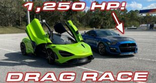 Mustang Shelby GT500 vs. McLaren 765LT 310x165 Video: 1.250 PS Mustang Shelby GT500 vs. McLaren 765LT!