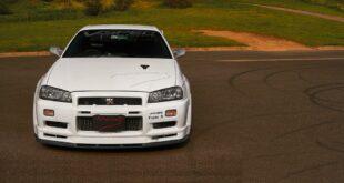 NissanSkylineGT RR34vonMines Header 310x165 Nissan Skyline GT R R34 von Mine´s: pure Perfektion!