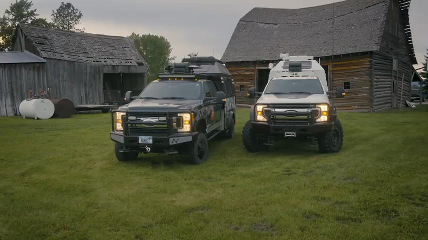 Nomad Tactical Command Vehicles Ford F 350 Tuning 18 Video: Allrounder   Nomad Tactical Command Vehicles!