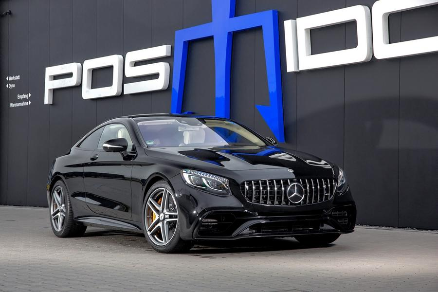 POSAIDON Mercedes Benz AMG S 63 Coupe C217 Tuning 2 880 PS im POSAIDON Mercedes Benz AMG S 63 Coupe!