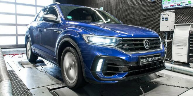 475 PS in the VW T-Roc R with Stage 4 tuning from Mcchip!