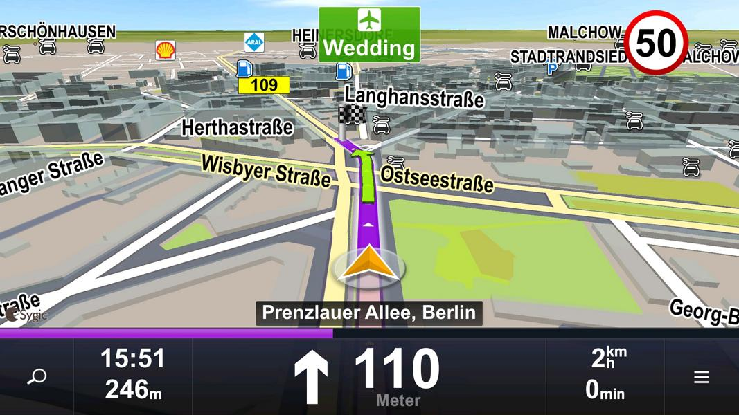 android auto google app sygic navigation 1 Android Auto System Review: Vor  und Nachteile!