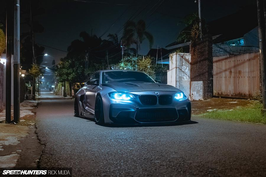 darwinpro BMW M2 Widebody Coupe F87 Tuning 41 Extrem brutal: BMW M2 Widebody Coupe aus Indonesien!