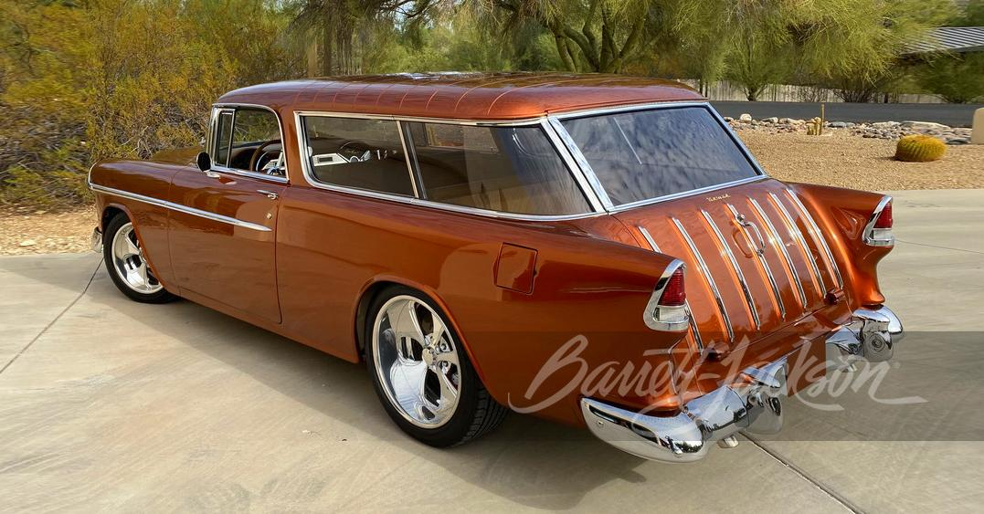 Copper Colored 1955 Chevrolet Nomad Coppersol Restomod