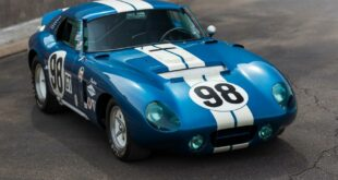 1965 Daytona Cobra by Carroll Shelby Tuning 1 310x165 1965 Daytona Cobra by Carroll Shelby under the hammer!