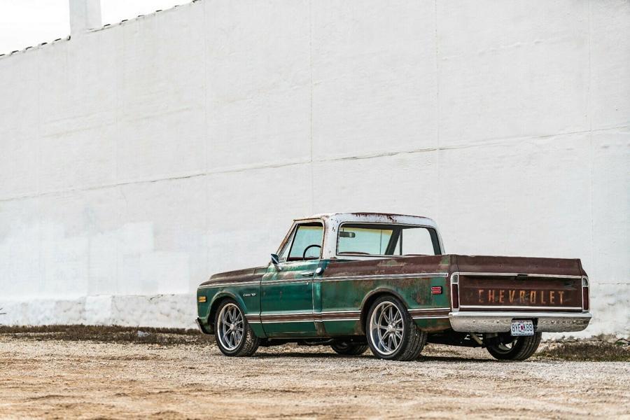 1969er Chevrolet C10 Restomod 5 1969er Chevrolet C10 Restomod mit modernem LS V8!