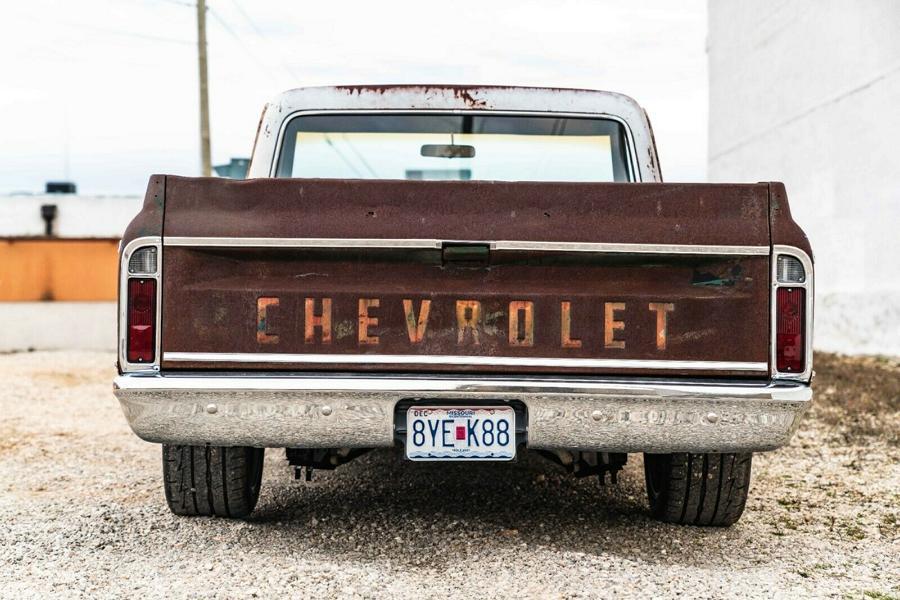 1969er Chevrolet C10 Restomod 6 1969er Chevrolet C10 Restomod mit modernem LS V8!