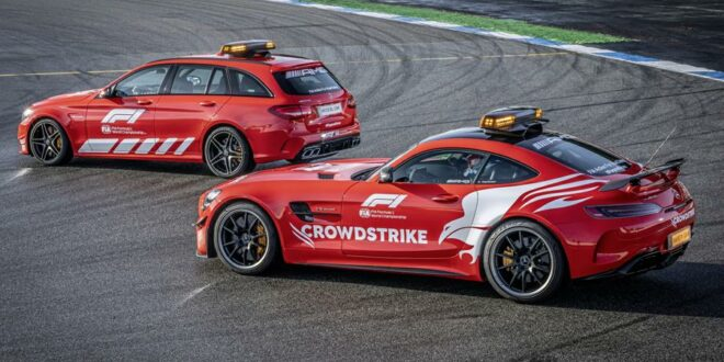 2021 Mercedes-AMG Safety Car und Medical Car der Formel 1