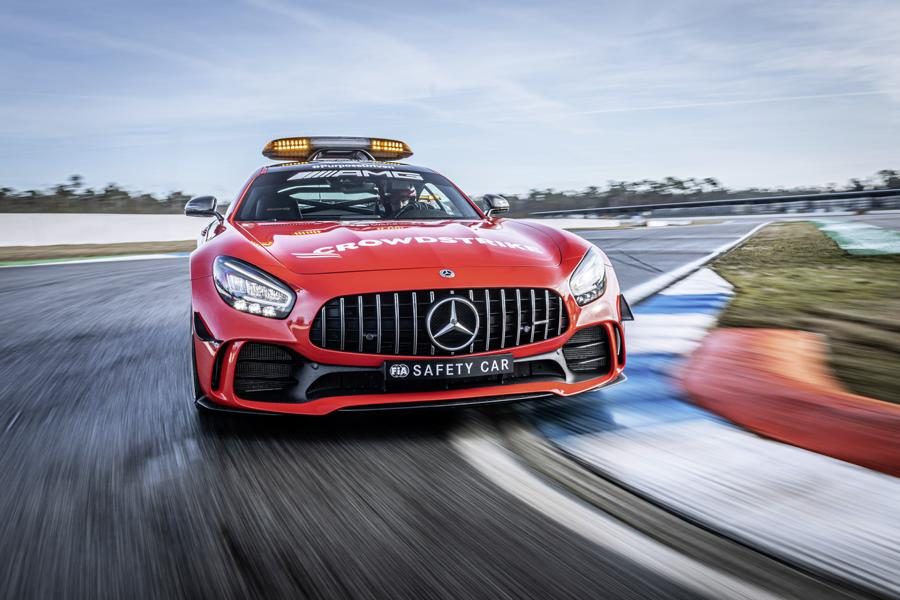 2021 Mercedes AMG Safety Car Medical Car Formel 1 7 2021 Mercedes AMG Safety Car und Medical Car der Formel 1