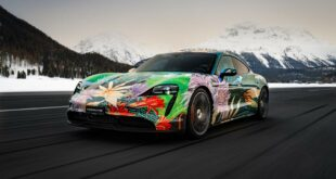 2021 Porsche Taycan Art Car 2 310x165 Great art for a good cause: Porsche Taycan Art Car!