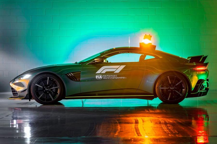 2021 Safety Car Formel 1 Aston Martin 12 Die Geschichte des Safety Cars in der Formel 1