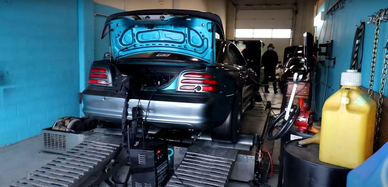 Acht Turbolader im Ford Mustang mit LS Motor 2 Video: Acht Turbolader im Ford Mustang mit LS Motor!