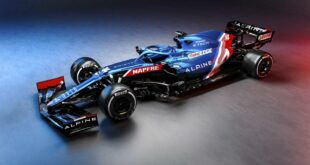 Alpine F1 Team racing car A521 2021 23 310x165 Alpine F1 Team presents new racing car A521 (2021)
