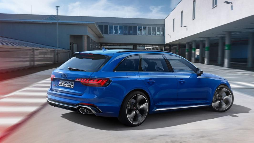 Audi Sport Nogaro Editions TT RS RS4 RS5 RS6 Tuning 2021 3 RS2 Hommage: Fünf Audi RS Modelle in Nogaro Blue!