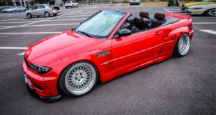 BMW 330 Ci Cabrio E46 Rocket Bunny Widebody Kit Tuning Header 310x165 BMW 330 Ci Cabrio (E46) mit Rocket Bunny Widebody Kit!
