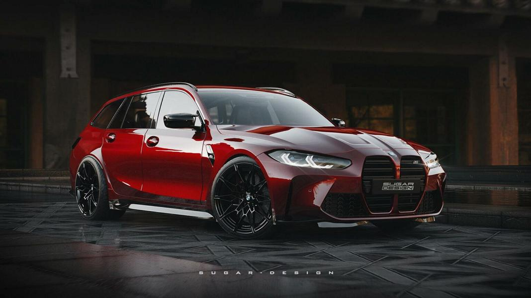 BMW M3 Touring G81 Competition Widebody Tuning 1 Vorschau: BMW M3 Touring & M4 Shooting Brake 2022!